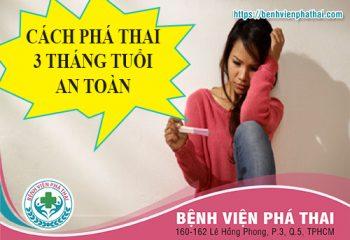 CACH PHA THAI 3 THANG TUOI
